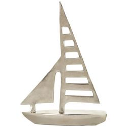 Sagebrook Home 15'' Metal Sailboat Decor