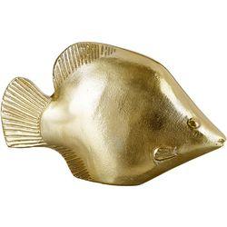 Sagebrook Home 12'' Metal Fish Figurine
