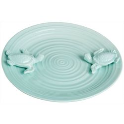Sagebrook Home 14'' Sea Turtle Decorative Plate