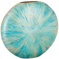 11'' Ceramic Shell Texture Vase