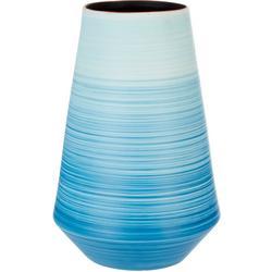 14'' Ombre Stripe Vase