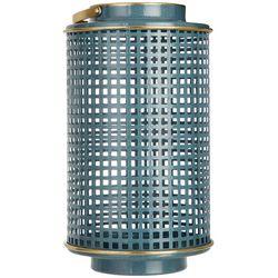 Sagebrook Home 12'' Metal Grid Lantern