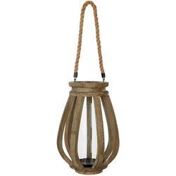 Sagebrook Home 16'' Wooden Candle Lantern