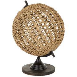 Sagebrook Home Rattan Globe Decor