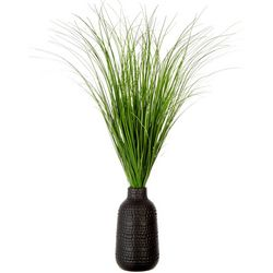 Secondary Potted Grass Decor