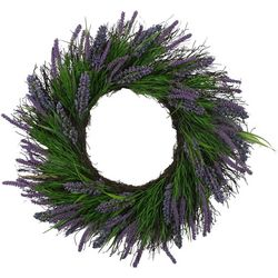 Coastal Home 22'' Heather Wreath