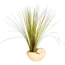 Shell Pot Artificial Grass Arrangement