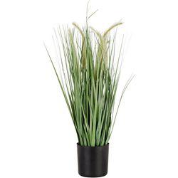 Melrose Potted Grass Decor