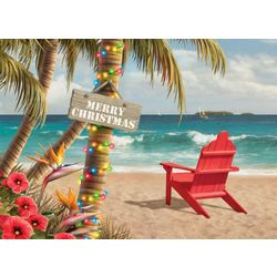 Adirondack Beach Chair Greeting Cards