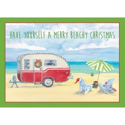 Holiday Camper Greeting Cards