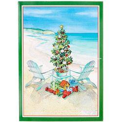 Brighten the Season Christmas Tree & Chair Greeting Cards