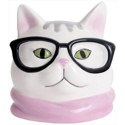 Glasses Cat Planter