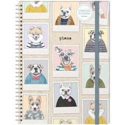 Dog Portrait Glossy Planner