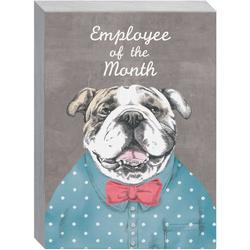 Employee Of The Month Block Art