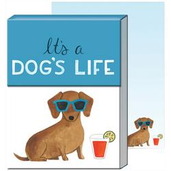 It's A Dog's Life Pocket Note Pad