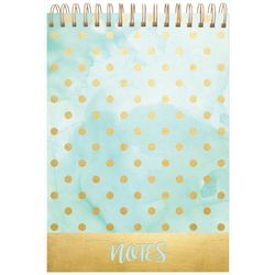 Lady Jayne Ltd. Polka Dot Spiral Note Pad