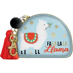 . Fa La La La Llama Zip Pouch