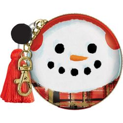 . Holiday Snowman Zip Pouch