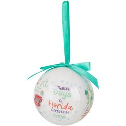 Brighten the Season 2020 12 Days Florida Ball Ornament