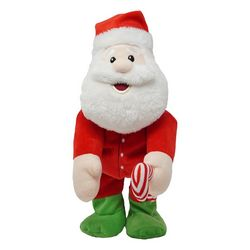 Cuddle Barn Jammin' Claus Plush