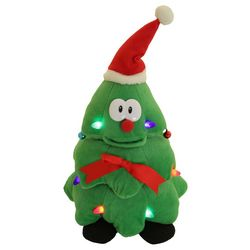 Cuddle Barn Rockin' Robbie Christmas Tree Dancing Plush