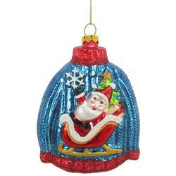 Brighten the Season Santa Claus Christmas Sweater Ornament