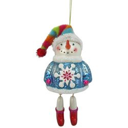 Brighten the Season Snowman Dangled Legs Ornament