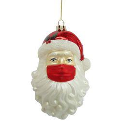 Brighten the Season Santa Claus & Face Mask Ornament