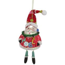 Brighten the Season Santa Claus Dangled Legs Ornament