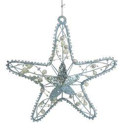 Brighten the Season Wired Beaded Starfish Ornament