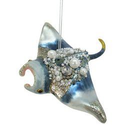 Brighten the Season Enchanted Manta Ray Ornament