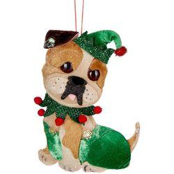 Brighten the Season Holiday Bulldog Ornament