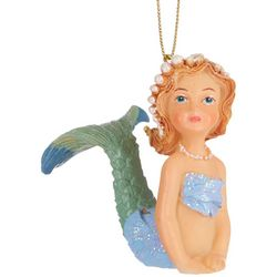 Brighten the Season Mermaid Shimmering Tail Up Ornament