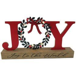 Brighten the Season Joy To The World Tabletop