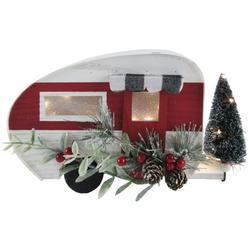 LED Holiday Camper Tabletop Decor