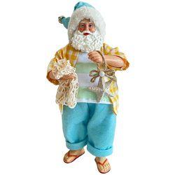 Brighten the Season Beach Santa Claus Tabletop Decor