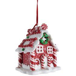 Brighten the Season Candy Cane House Ornament