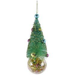Brighten the Season Christmas Tree & Confetti Ornament