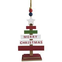 Brighten the Season Merry Christmas Stick Tree Ornament
