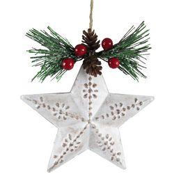 Brighten the Season Star & Pine Needle Ornament