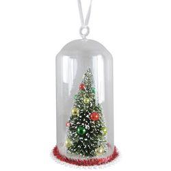 Brighten the Season Christmas Tree Dome Ornament
