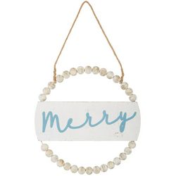 Brighten the Season Merry Wall Sign