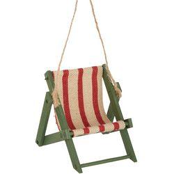 Brighten the Season Beach Chair Starfish Ornament
