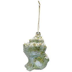 Brighten the Season Bead Pearl Conch Shell Ornament