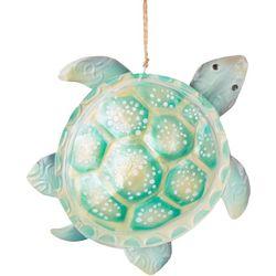 Brighten the Season Sea Turtle Capiz Ornament