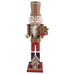Gingerbread Nutcracker Figurine