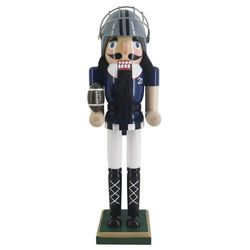 Brighten the Season Football Nutcracker Figurine
