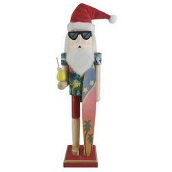 Brighten the Season Coastal Santa Claus Nutcracker Figurine
