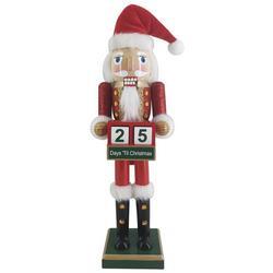 Days Santa Claus Nutcracker Figurine