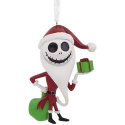 Hallmark The Nightmare Before Christmas Santa Jack Ornament